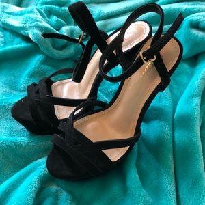 Stunning platform high heels
